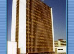Nová budova techniky před rekonstrukcí