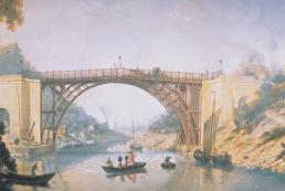 První litinový most - Wolverhampton, Anglie, 1777-78